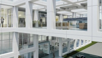 One Legacy West employer office space-building-plano