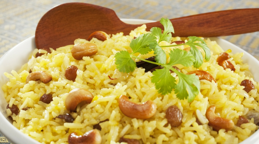 Basmati Rice with Nuts & Spices