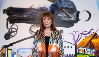 art consultant Sharon Leeber, dallas, plano, richardons, cityline, art