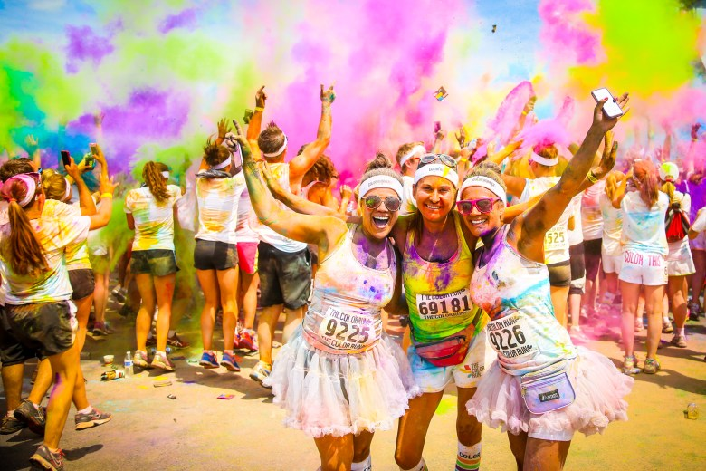 color run tour, dallas, fair park