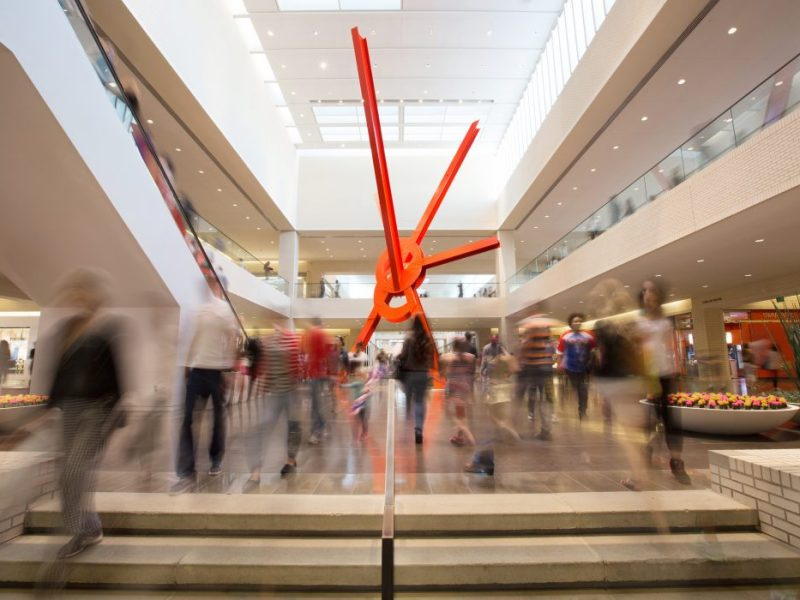 Ad Astra by Mark di Suvero at NorthPark mall, Dallas. Business Council for the Arts, Leadership Arts Insitute