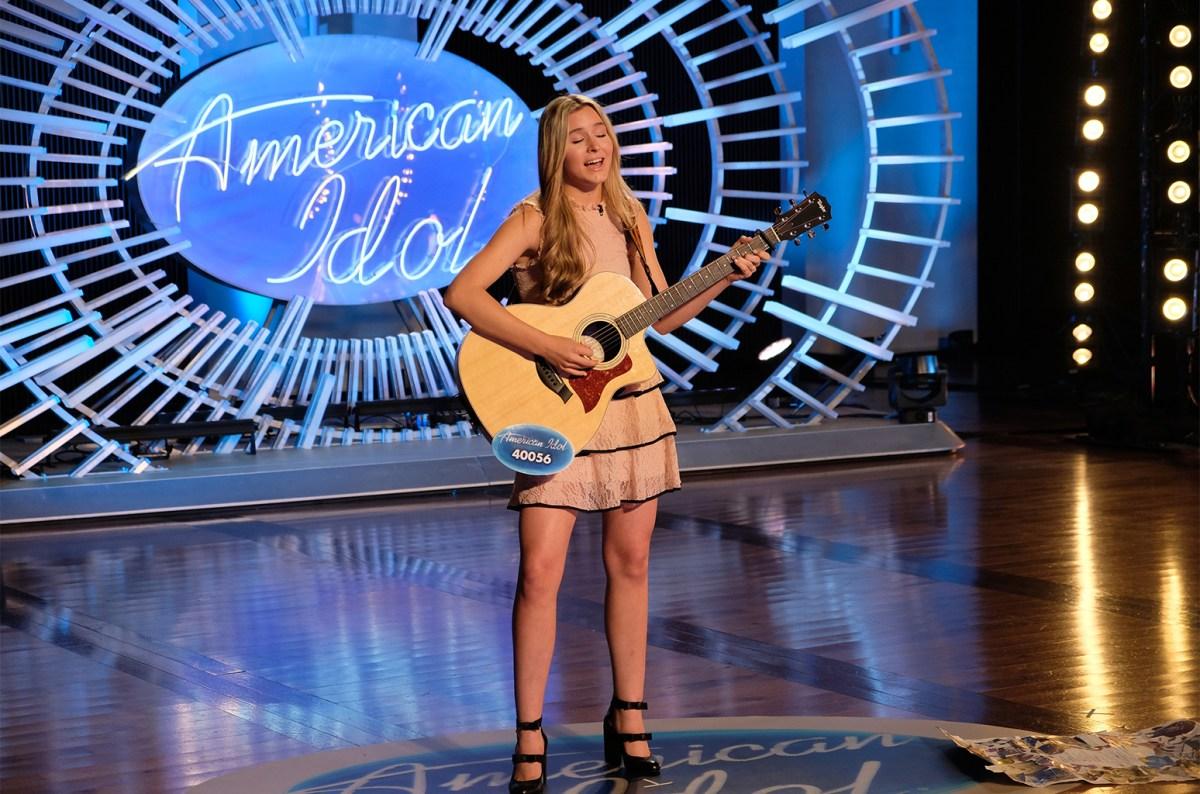 Harper Grace on American Idol 2018 | Mark Levine/ABC