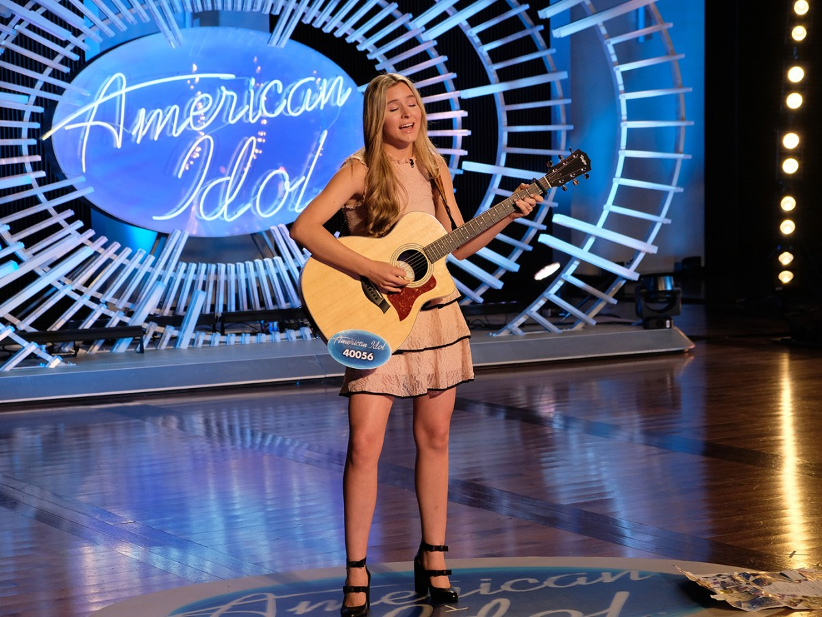 Harper Grace on American Idol 2018 | Mark Levine/ABC
