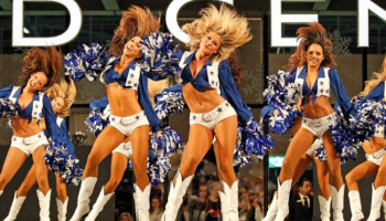 The Star in Frisco, Dallas Cowboys Cheerleaders