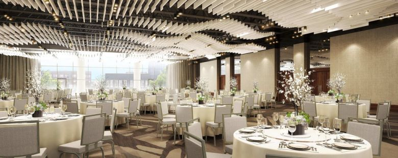 renasissance dallas at plano legacy west hotel, easter brunch, legacy ballroom
