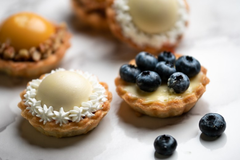 tarts by tart-a-licious. photography by cori baker