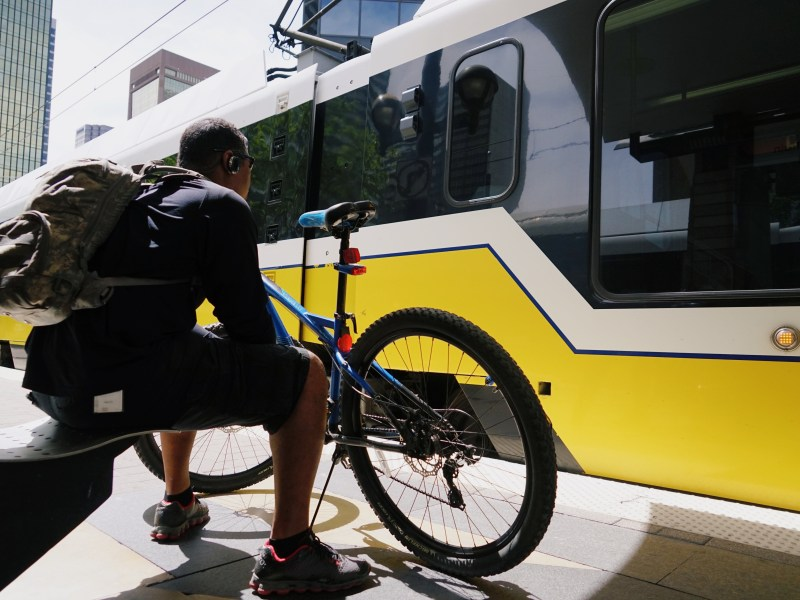 bike to work, transportation, DART