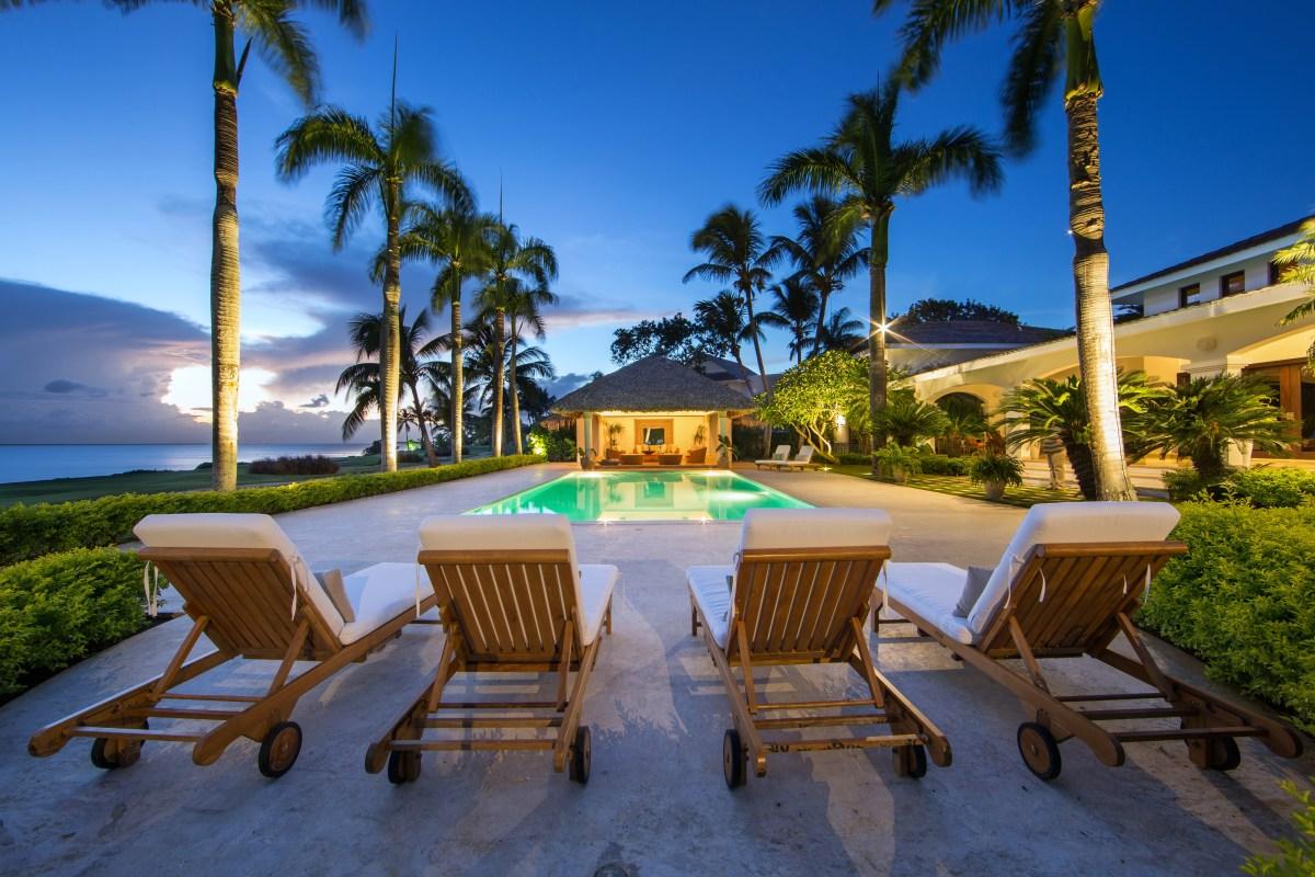 palma del mar oceanside villa in casa de campo, dominican republic.