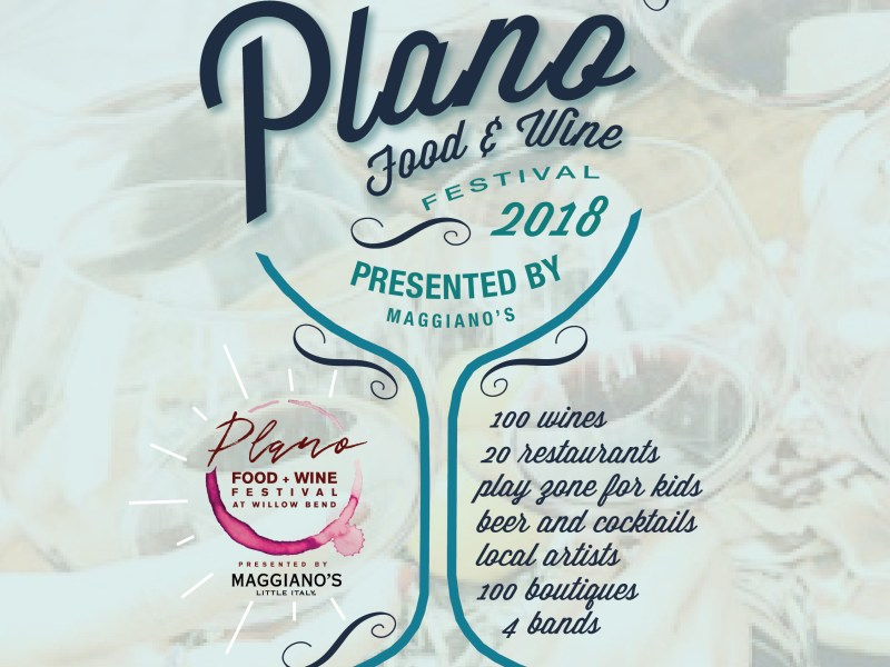 online plano food and wine
