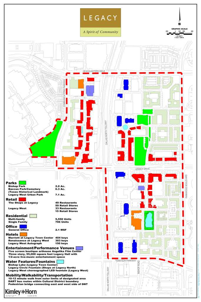 legacy west, legacy drive park, legacy cultural district