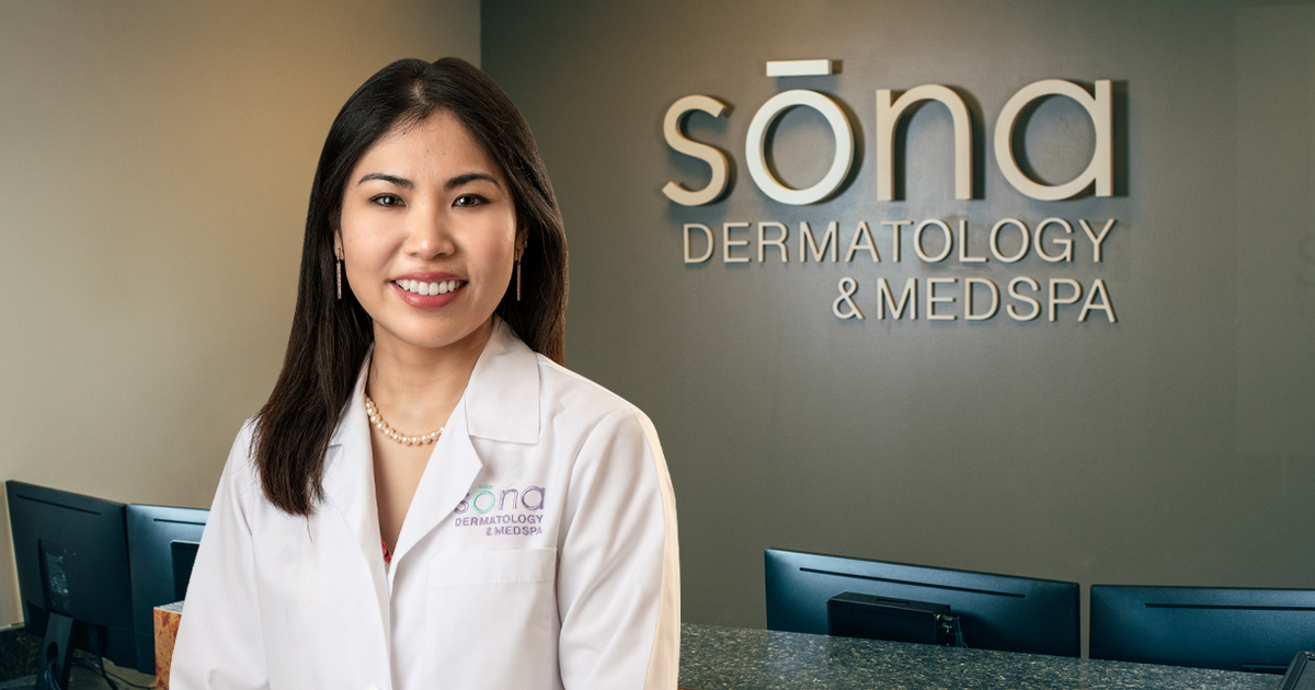 dr. song with sign