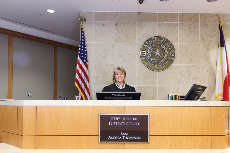 Collin County Courthouse women judges andrea thompson