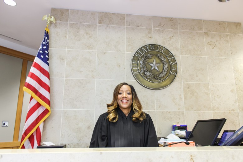 Collin County Courthouse women judges angela tucker