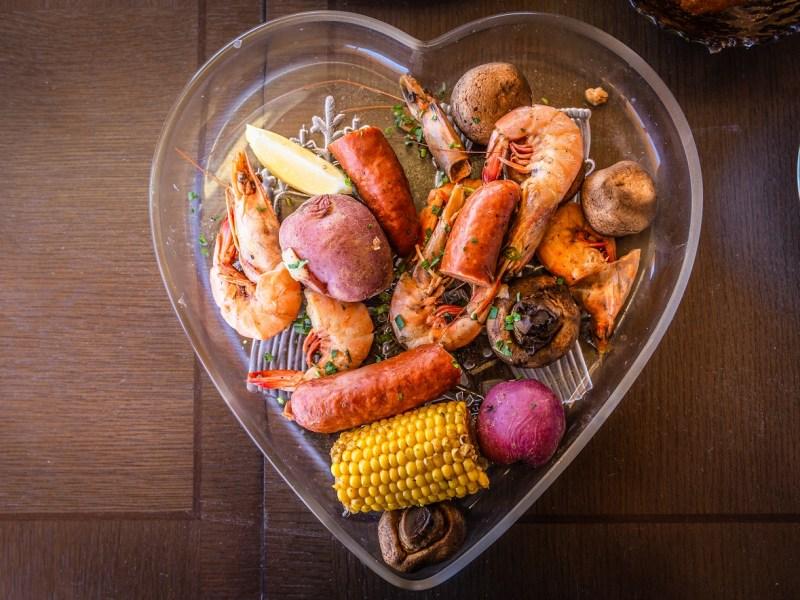 cajun shrimp boil, bongo beaux's, celina, texas, celina restaurants, best restaurants, shrimp boil, cajun restaurants