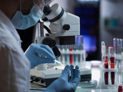 antibody testing microscope