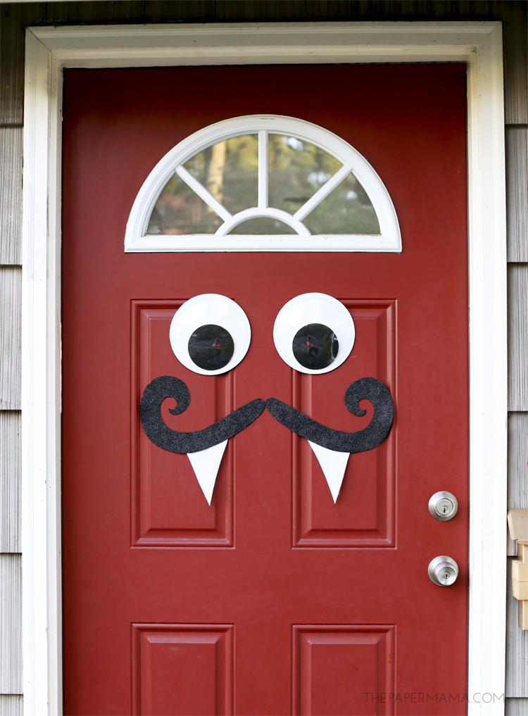 Monster Door Decor The Paper Mama