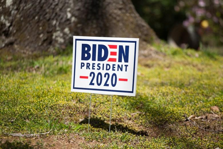 biden political sign