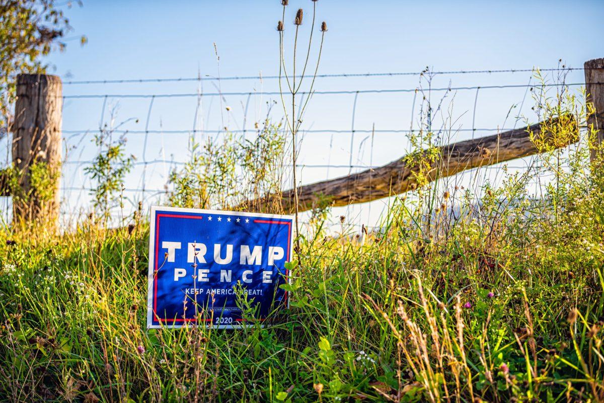 trump political sign