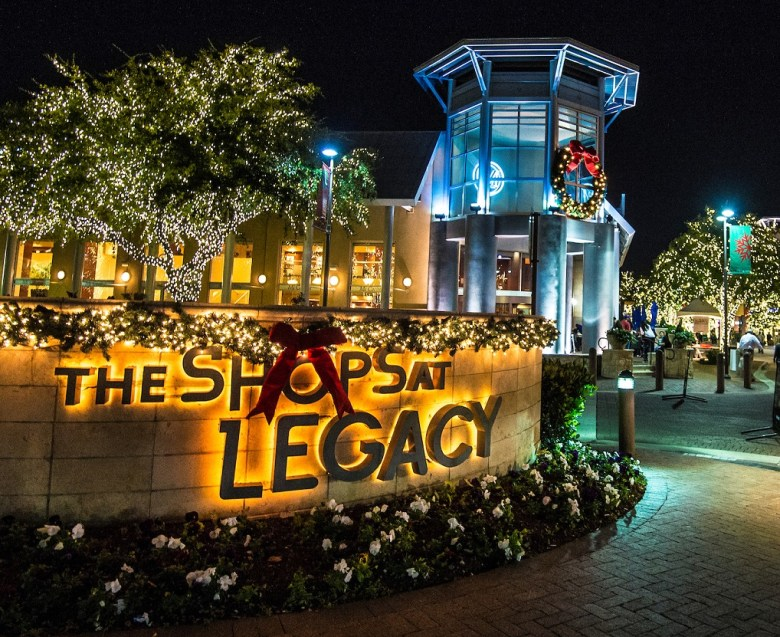 holiday events shops at legacy