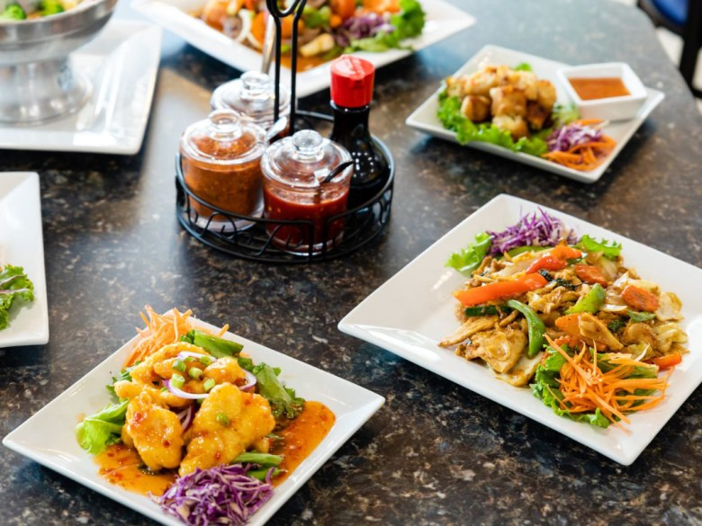 taste of thai entre selection