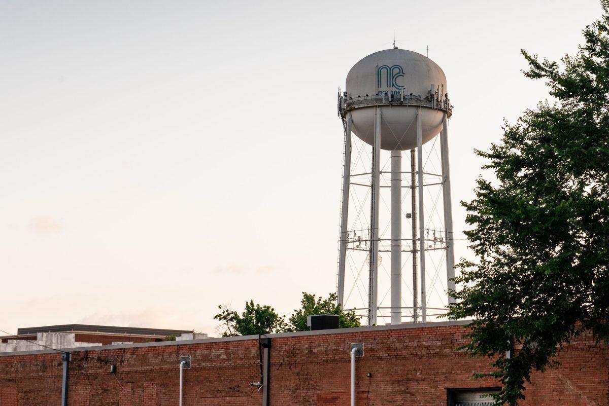 McKinney district 1 water tower