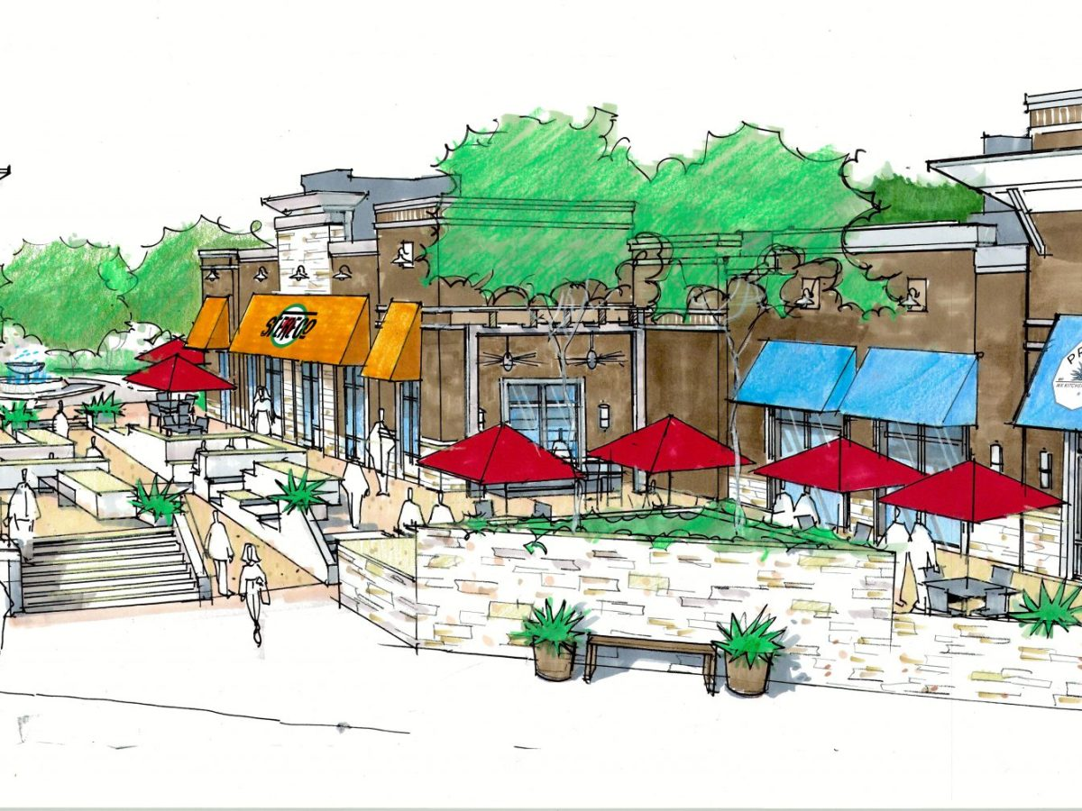 Mercer Crossing Boardwalk Restaurants