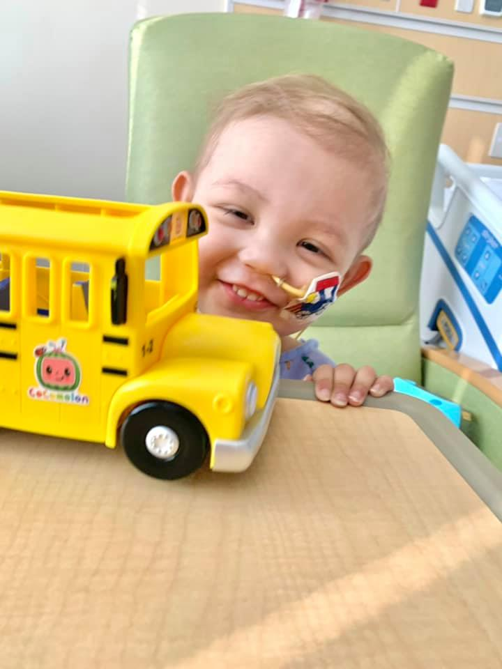 two-year-old with Burkitt's lymphoma