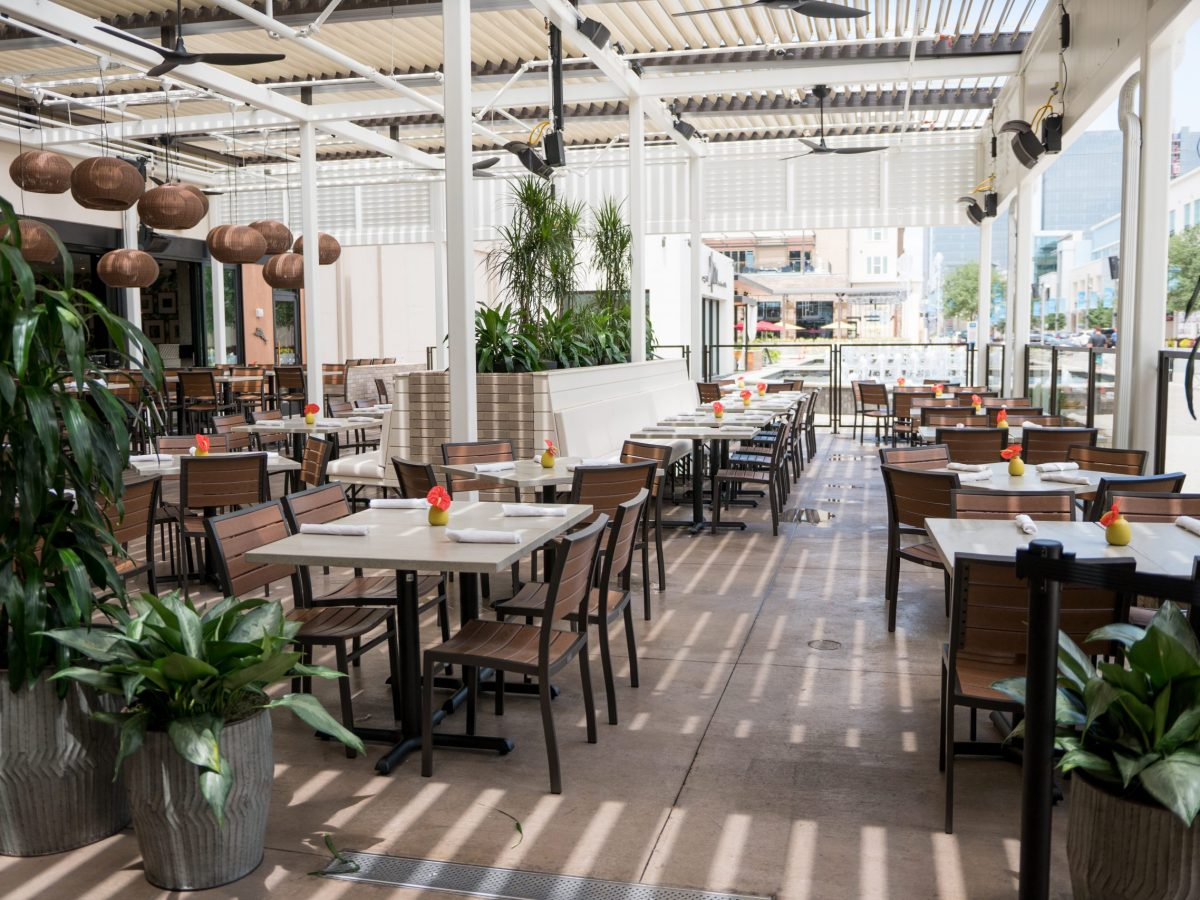 tommy bahama has one of the best patios in plano | by cori baker