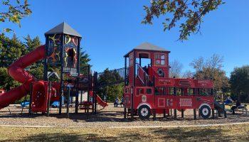 Allen playground, green park, first-responder playground, best playgrounds, allen playgrounds