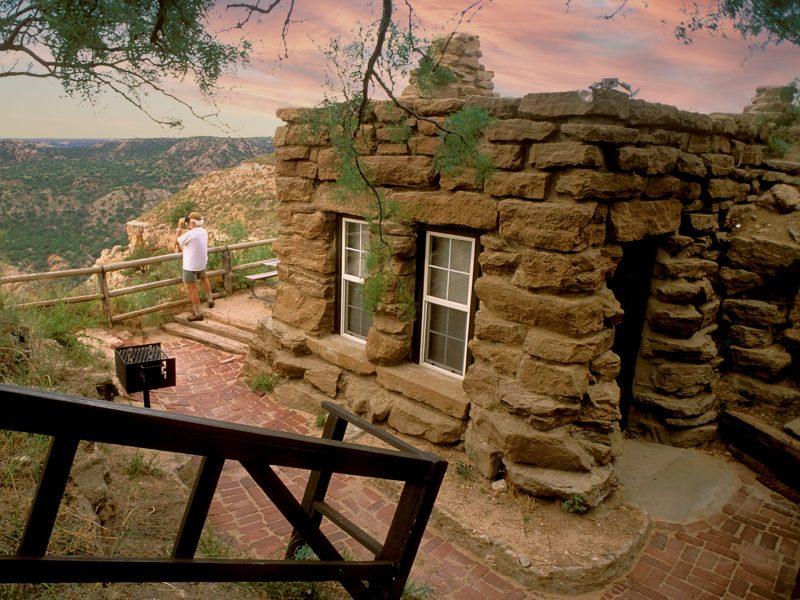 palo duro canyon cabin