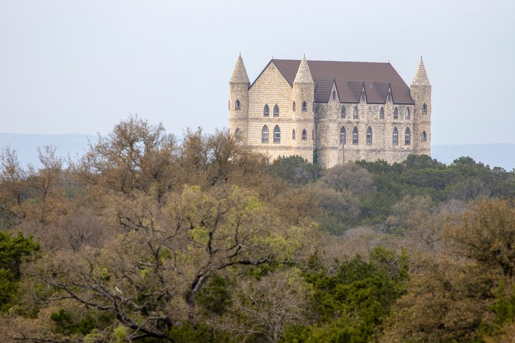Castle Faulkenstein Texas Hill County airbnb