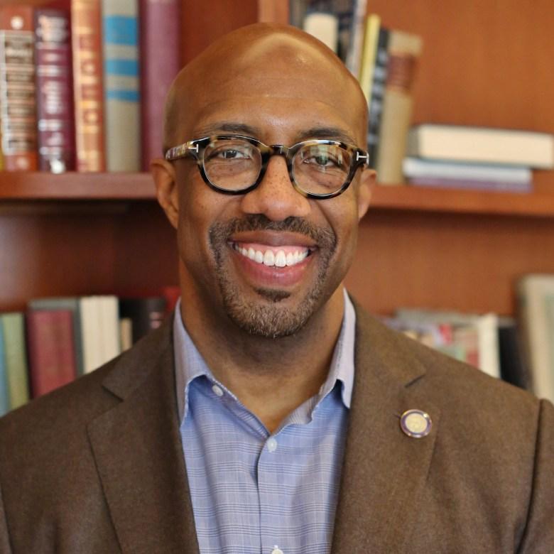 dr. michael j. sorrell, president of paul quinn college   roberto hernandez, paul quinn college