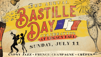 Bastille Day at Legacy Hall!