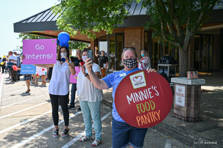 minnie's food pantry is one of the nonprofits that students can work with and learn from during the plano mayor's summer internship program. | photo by james edward