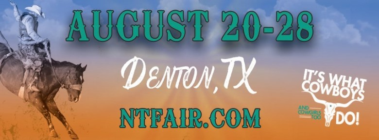 """the 2021 north texas fair and rodeo is gonna be a rip-roarin good time to add to your """"august to do's""""... learn more!   from facebook"""