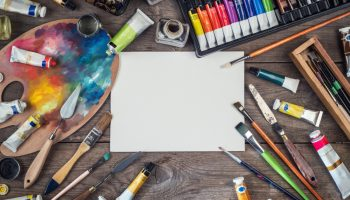 Paint, illustration, pencil... whatever the medium, support these local artists!