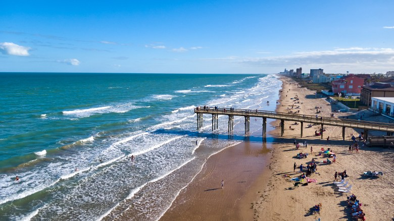 south padre island on the texas coast has beautiful beaches   best weekend getaways in texas