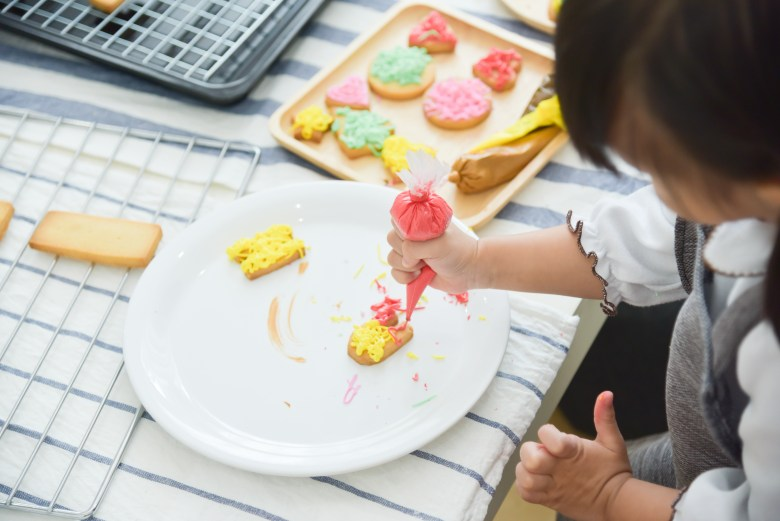 wo doesn't love cookies? decorating them could be  a sure hit to to this weekend with your kids! | shutterstock