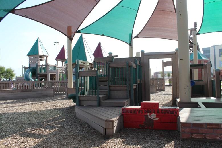 tot lot, windmill playground, frontier park, prosper, best playgrounds