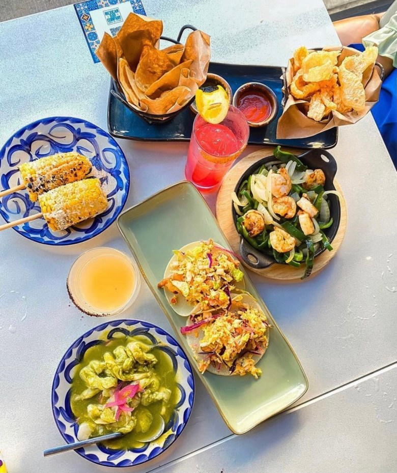 a glance at mexican bar co.'s latin-inspired offerings. try some this dfw restaurant week! | via @mexbars on instagram