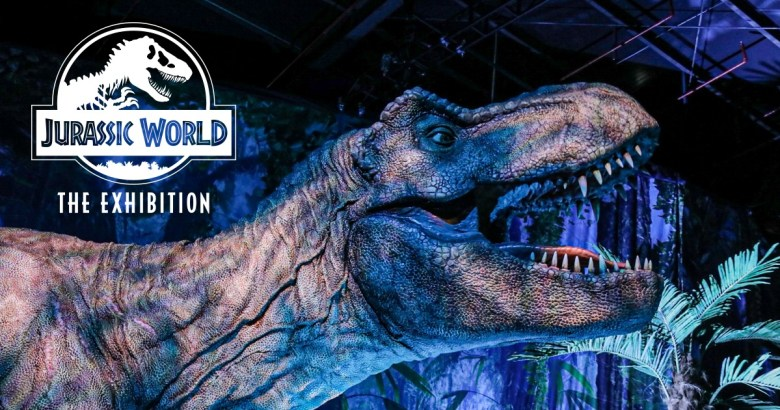 jurassic park exhibition is a fun family activity to do this weekend... but hurry! tickets are selling out fast!