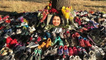 Memorial for Sarmistha Sen, Plano jogger murdered on the Chisholm Trail last year.