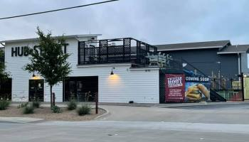 Twisted Root Burger Co. is expected to open in the space previously occupied by Hub Streat | Via Monica Mullins of the Downtown Plano Facebook group.
