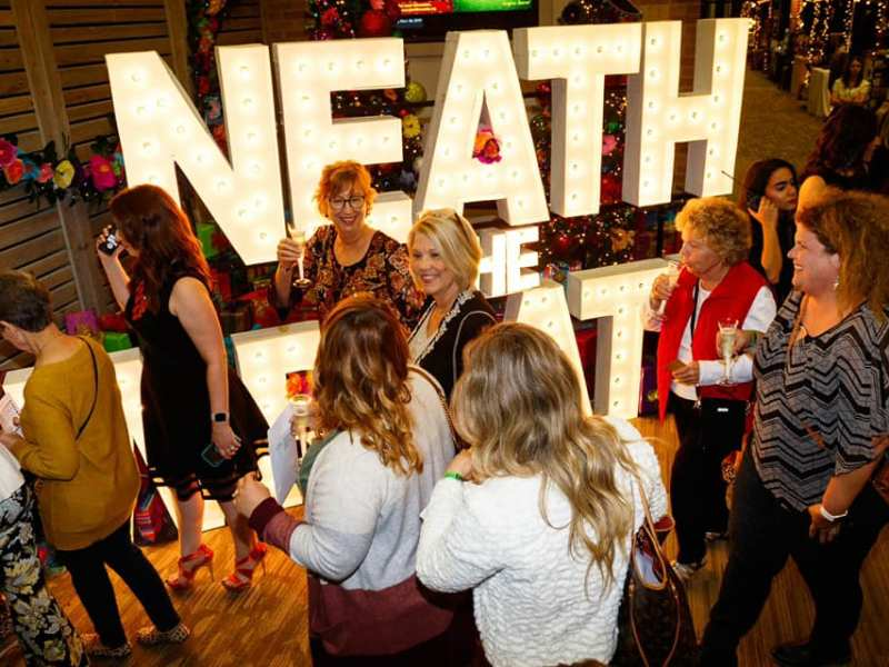 neath the wreath is back for 2021! and in a new location!
