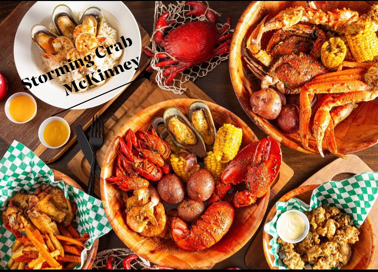 does it get any more cajun than this incredible array from storming crab?   courtesy of storming crab's facebook page.