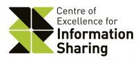 Green and black coloured logo in zig zag shape to symbolise sharing of knowledge