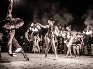 burlesque fire art dance santa cruz local