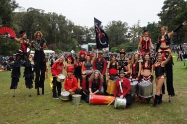Performer Spotlight: Samba Stilt Circus