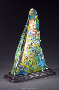 Vince Broglio Resin Art Fin