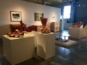 The R. Blitzer Gallery exhibits the work of local and regional artists.